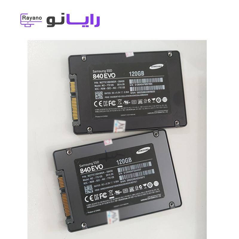 هارد 120 گیگ SSD دست دوم