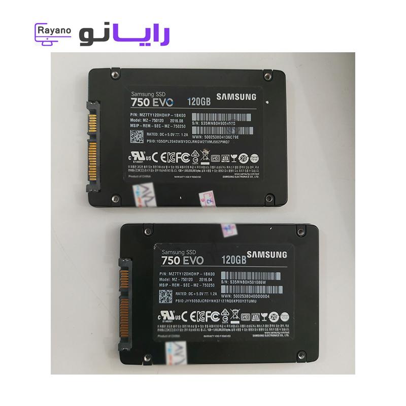هارد SSD سامسونگ 120 گیگ در همدان